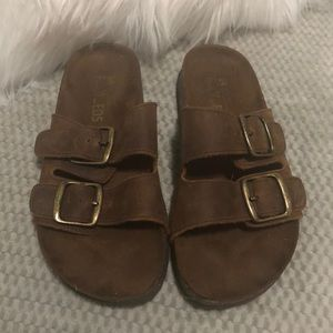 White Mountain FootBeds Sandals Size 7